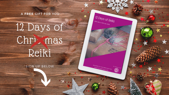 Free 12 Days of Reiki: Peace, Calm and Joy from Within