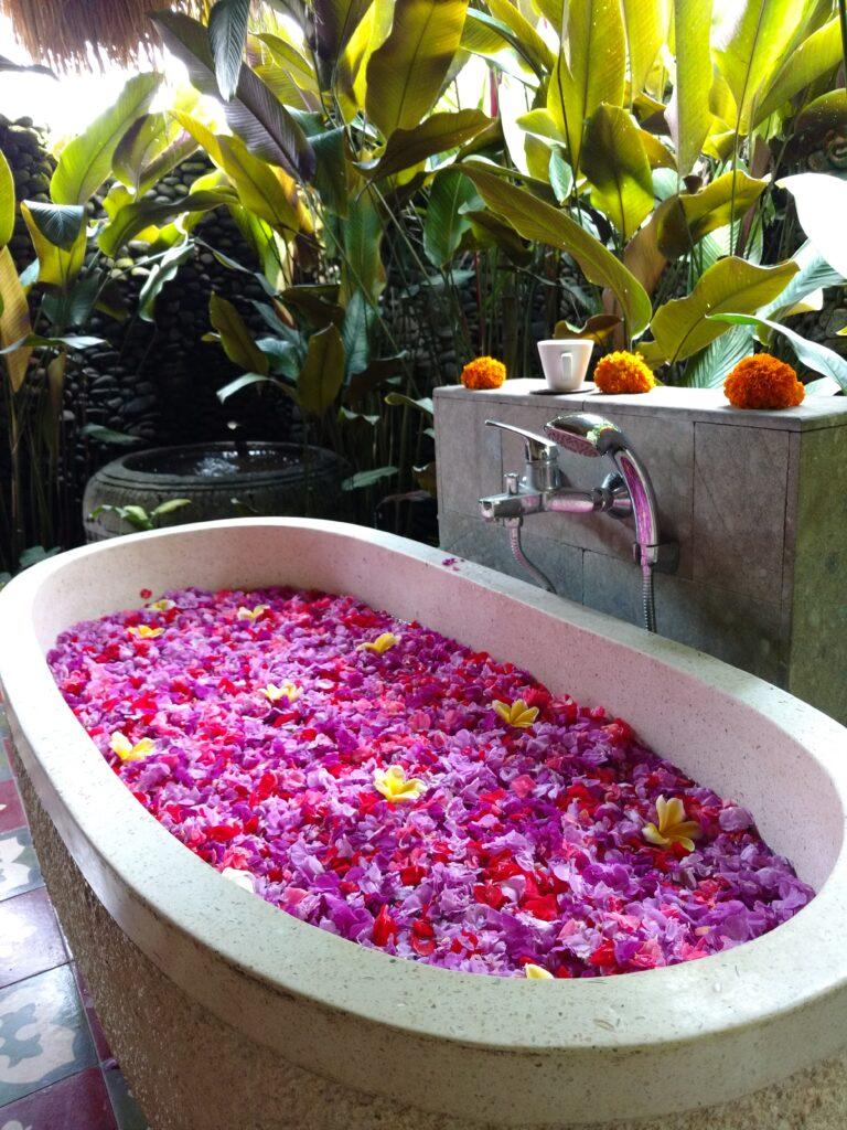 Bali Flower Bath