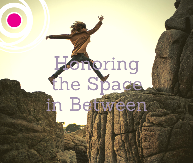 Navigating the Space in Between